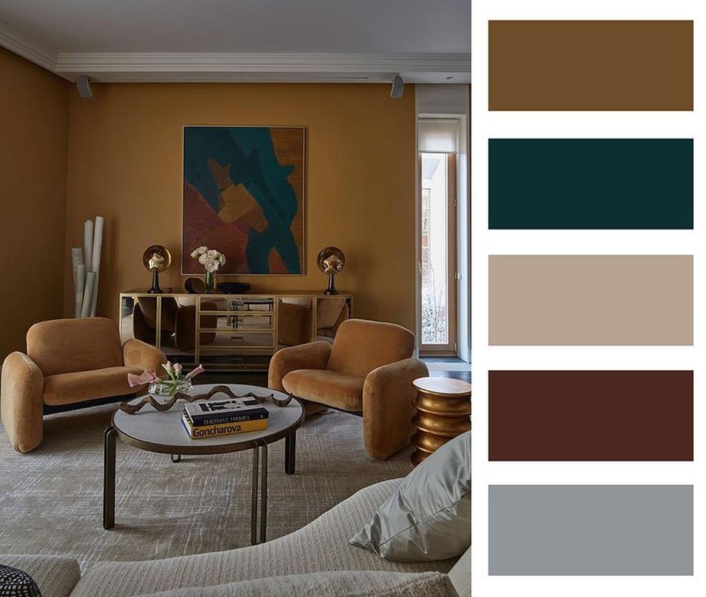 Farebné kombinácie - inšpirácie do interiéru - Obrázok č. 77