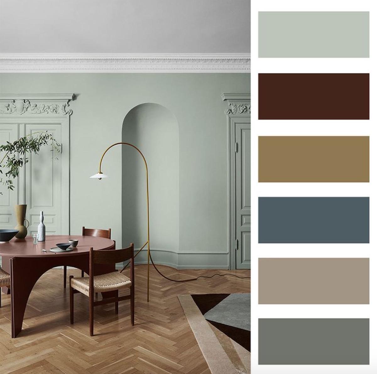 Farebné kombinácie - inšpirácie do interiéru - Obrázok č. 66