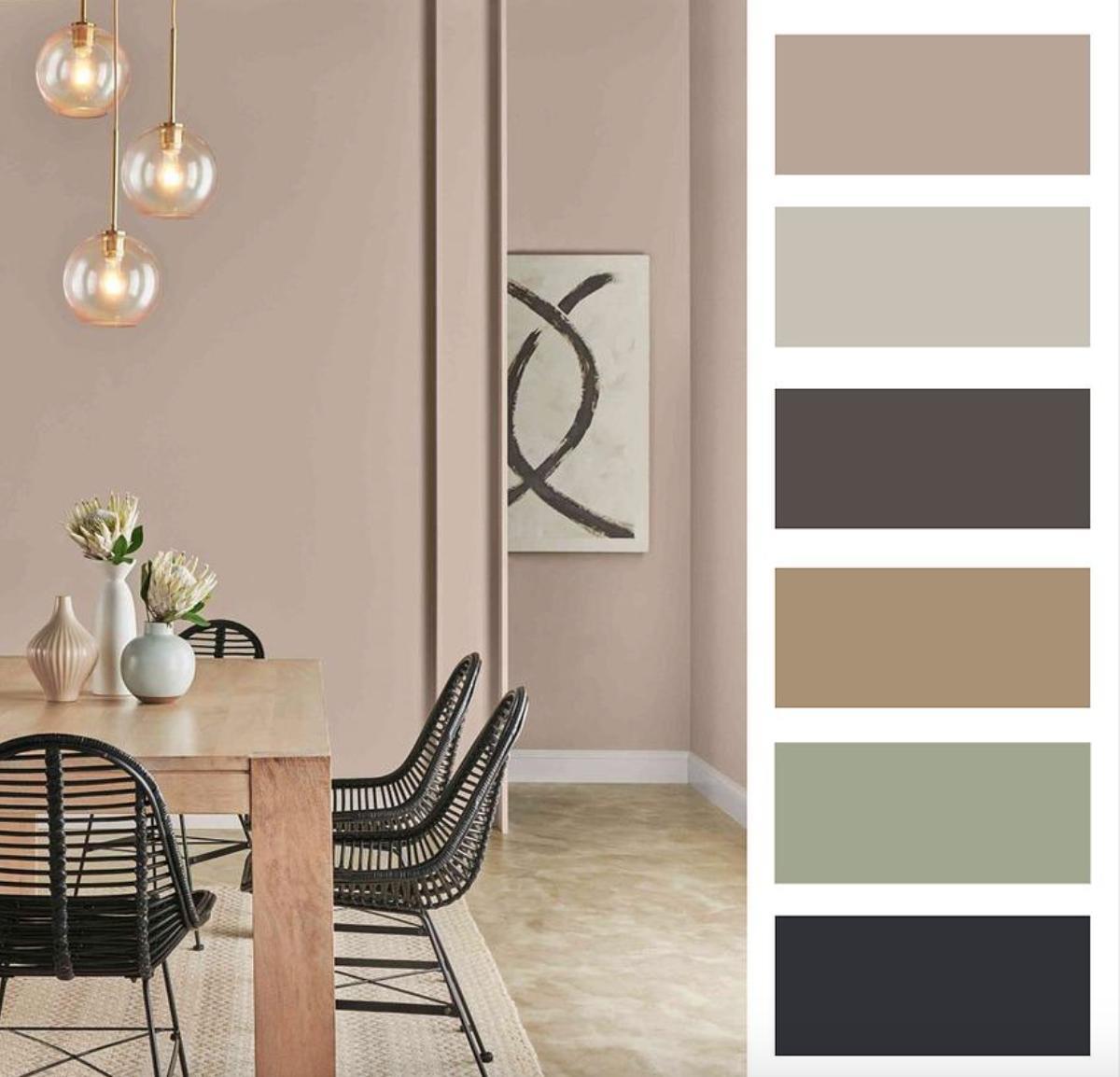 Farebné kombinácie - inšpirácie do interiéru - Obrázok č. 71