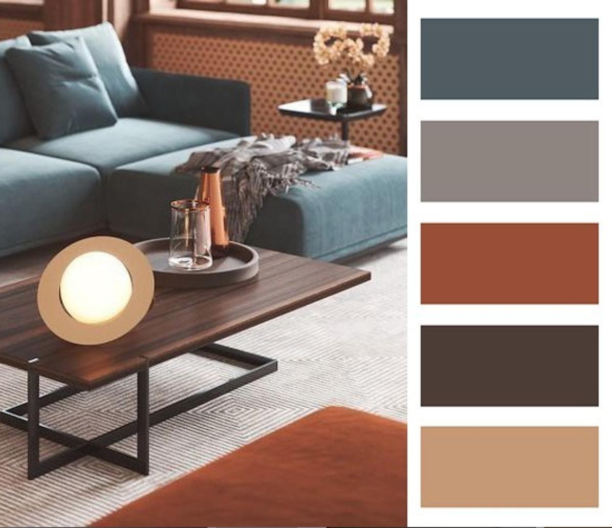 Farebné kombinácie - inšpirácie do interiéru - Obrázok č. 70