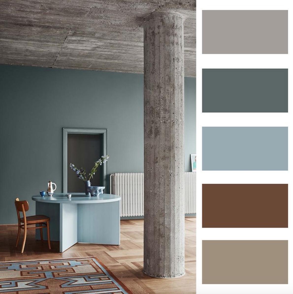 Farebné kombinácie - inšpirácie do interiéru - Obrázok č. 62