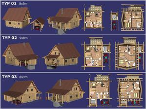 Vlastní amatérský návrh vytvořen v 3D konstrukčním systému Catia. Trochu větší rozlišení zde: http://screenshot.cz/MA1L7/obora_render_all_web1600.jpg