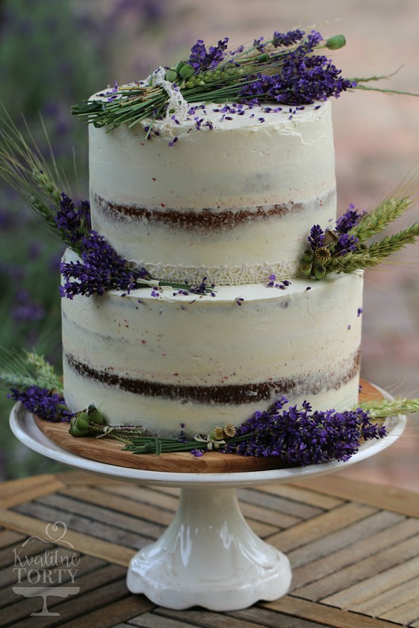 Mini CAKE BAR na záhradnú svadbičku : - makovo malinová