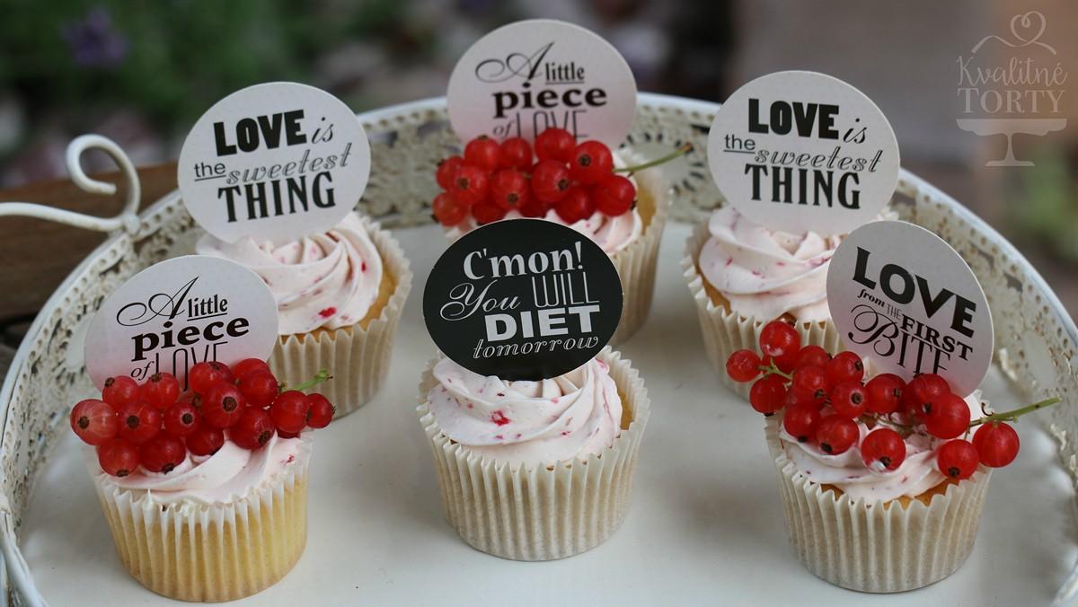 Mini CAKE BAR na záhradnú svadbičku : - Obrázok č. 4