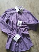 Košile kostičkovaná Slim fit vel S, 46
