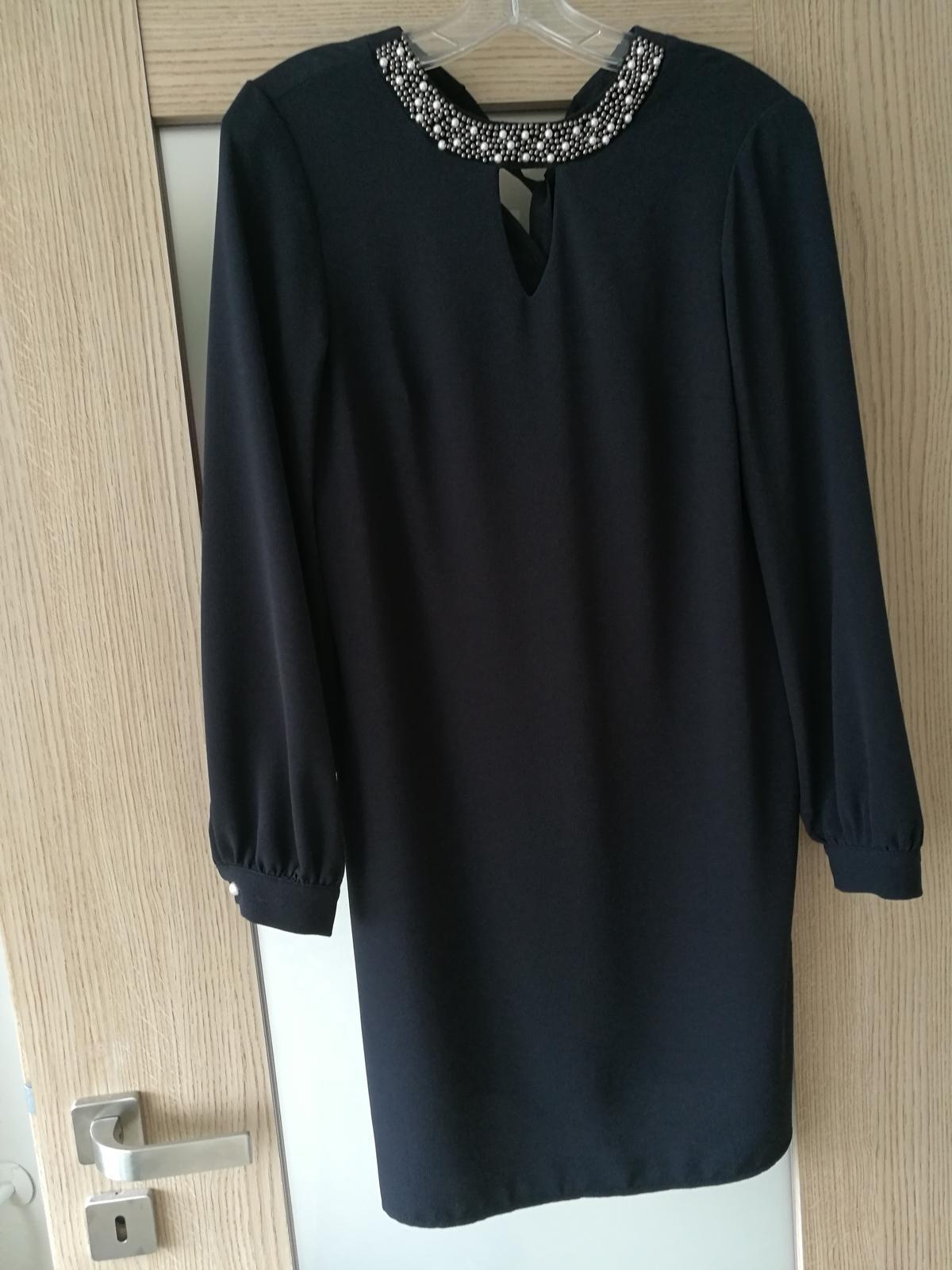 Šaty s dlouhým rukávem - Obrázek č. 1