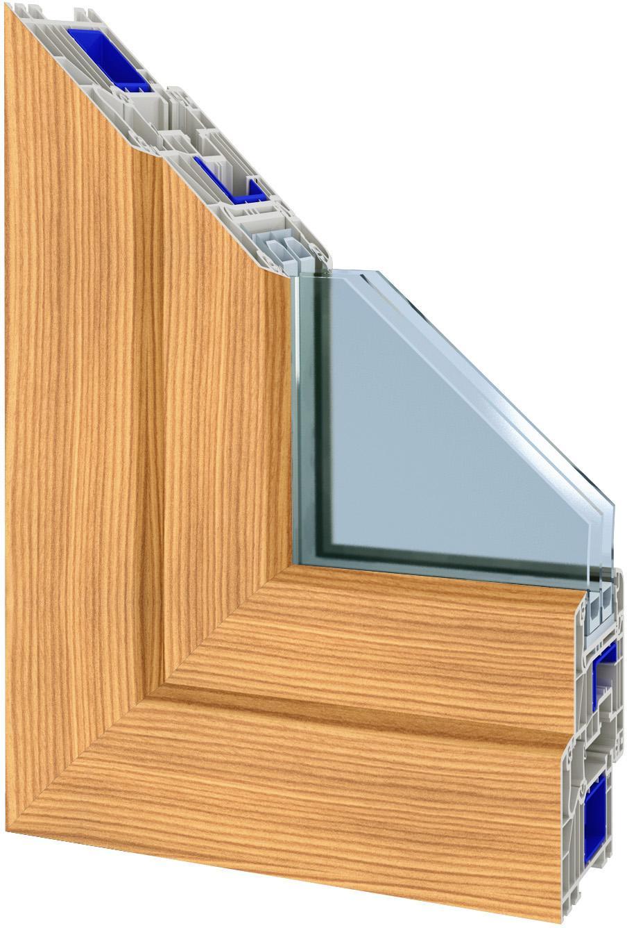 Okna gealan odstin bergkiefer     okna, dveře a b...