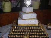 Stojan na svadobnu tortu ,