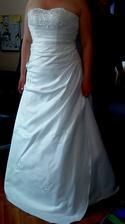 Svatební šaty jsou doma jupííííííí