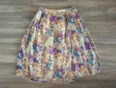 Kvietkovaná sukňa, L