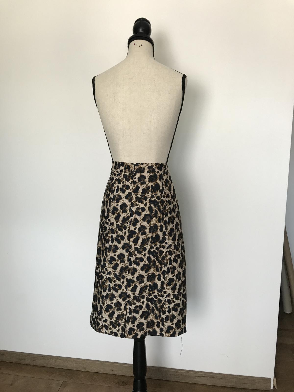 Leopardia sukňa - Obrázok č. 2