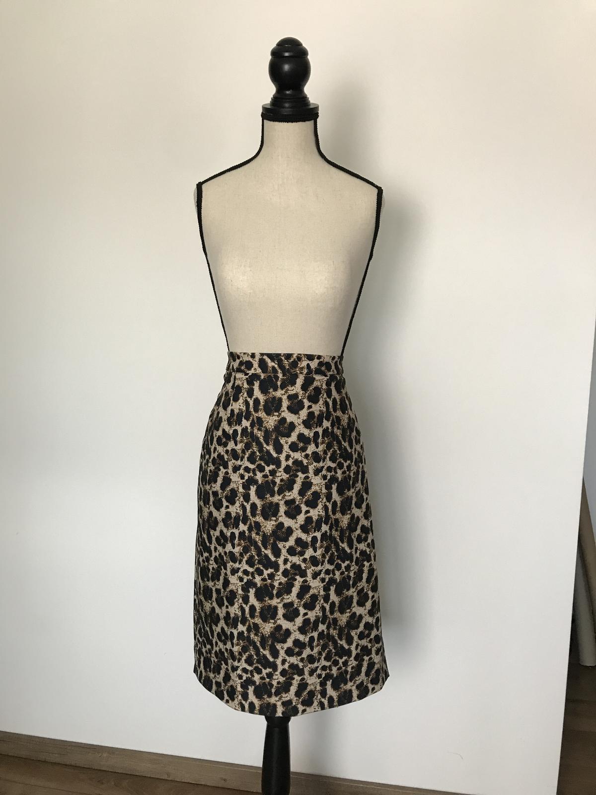 Leopardia sukňa - Obrázok č. 1