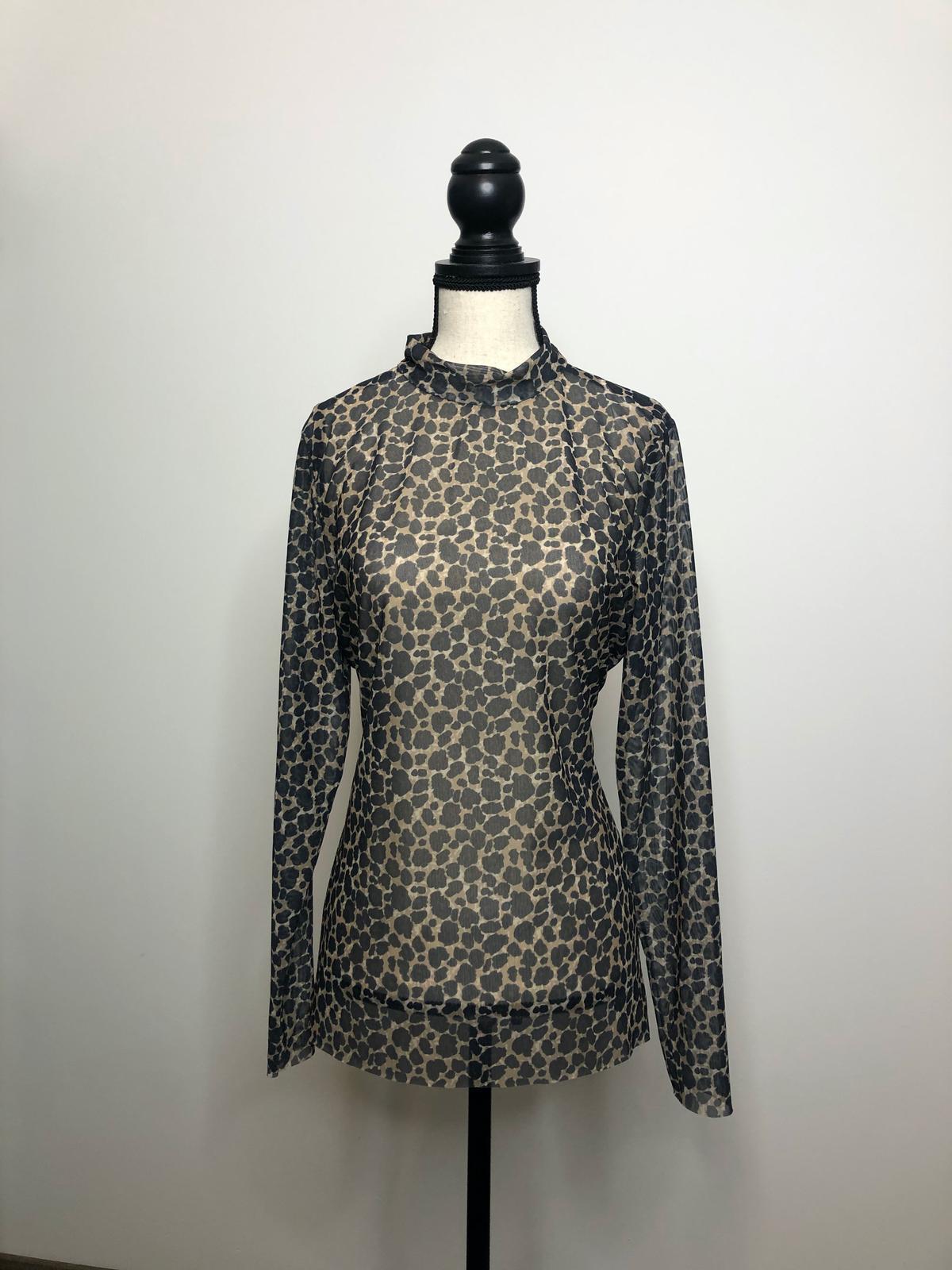 Leopardí top - Obrázok č. 1