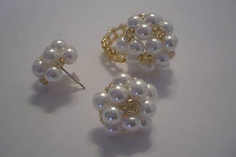 Biela perličková súprava - Obrázok č. 2