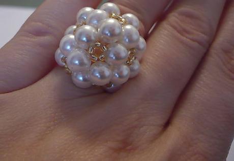 Biela perličková súprava - Obrázok č. 3