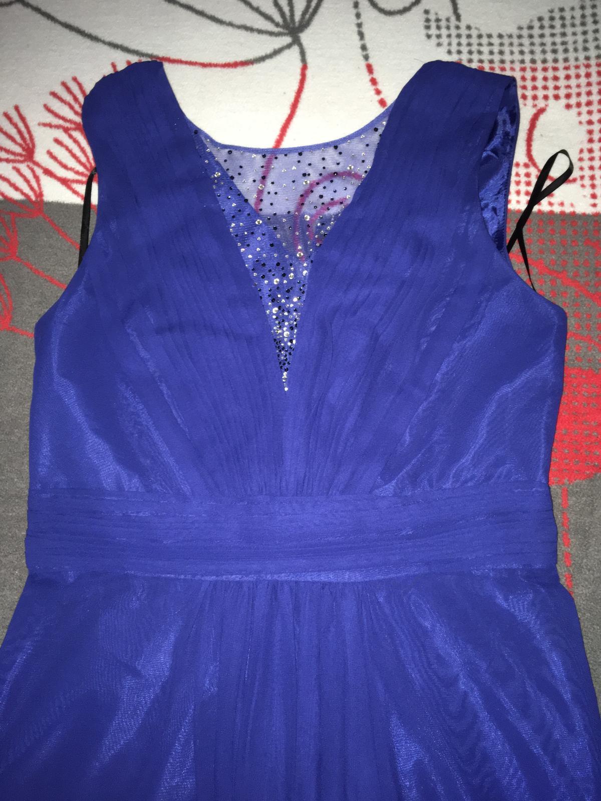 Polnočne modré šaty - Obrázok č. 1