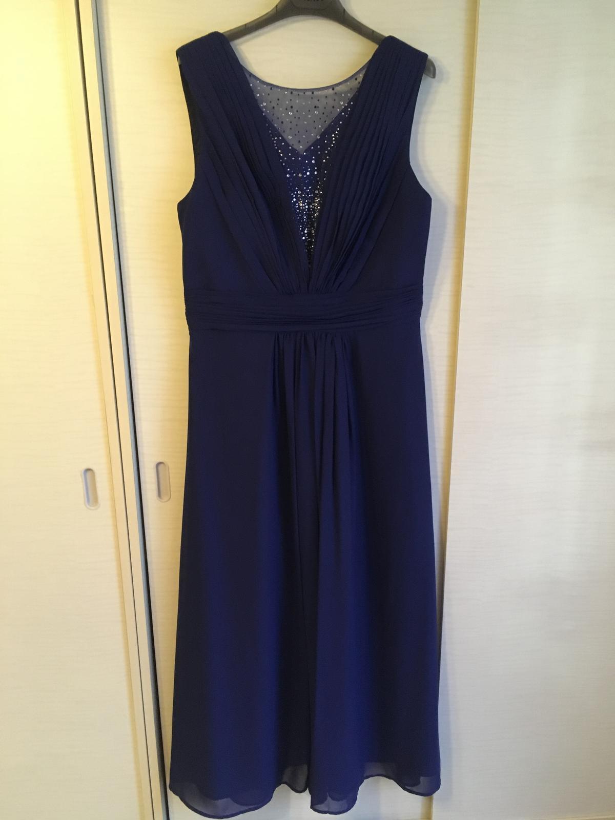Polnočne modré šaty - Obrázok č. 2
