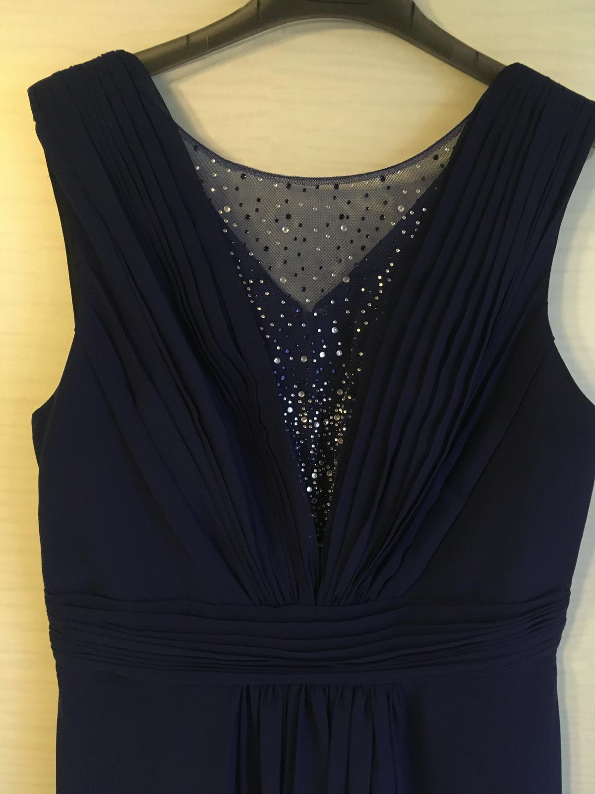 Polnočne modré šaty - Obrázok č. 3