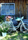 svatební starožitné kolo,