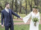 Svatební šaty boho, 38