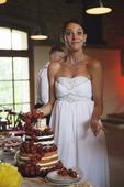 Bílé bohémské svatební šaty, 38