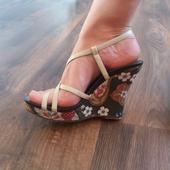 Retro sandály, 36