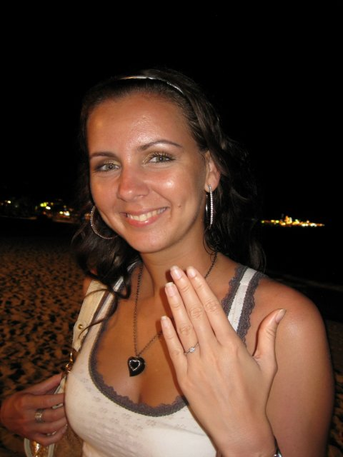 Ivetka a Janko 07.08.2010 - pripravy a skutocnost - romanticke a necakane zasnuby v Thajsku... tak strasne som sa tesila :))))