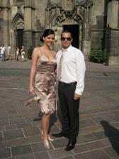 my dvaja na svadbe Jankovho brata