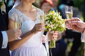 Svadobné šaty s krajkou, 36
