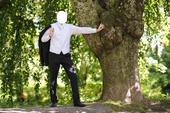 Svadobná vesta, kravata, vreckovka - v., 52