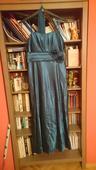 Saténové společenské šaty, XXL