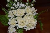 umelé kytica ruží,