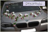DekorAuto MAJKA bielo-ružová,