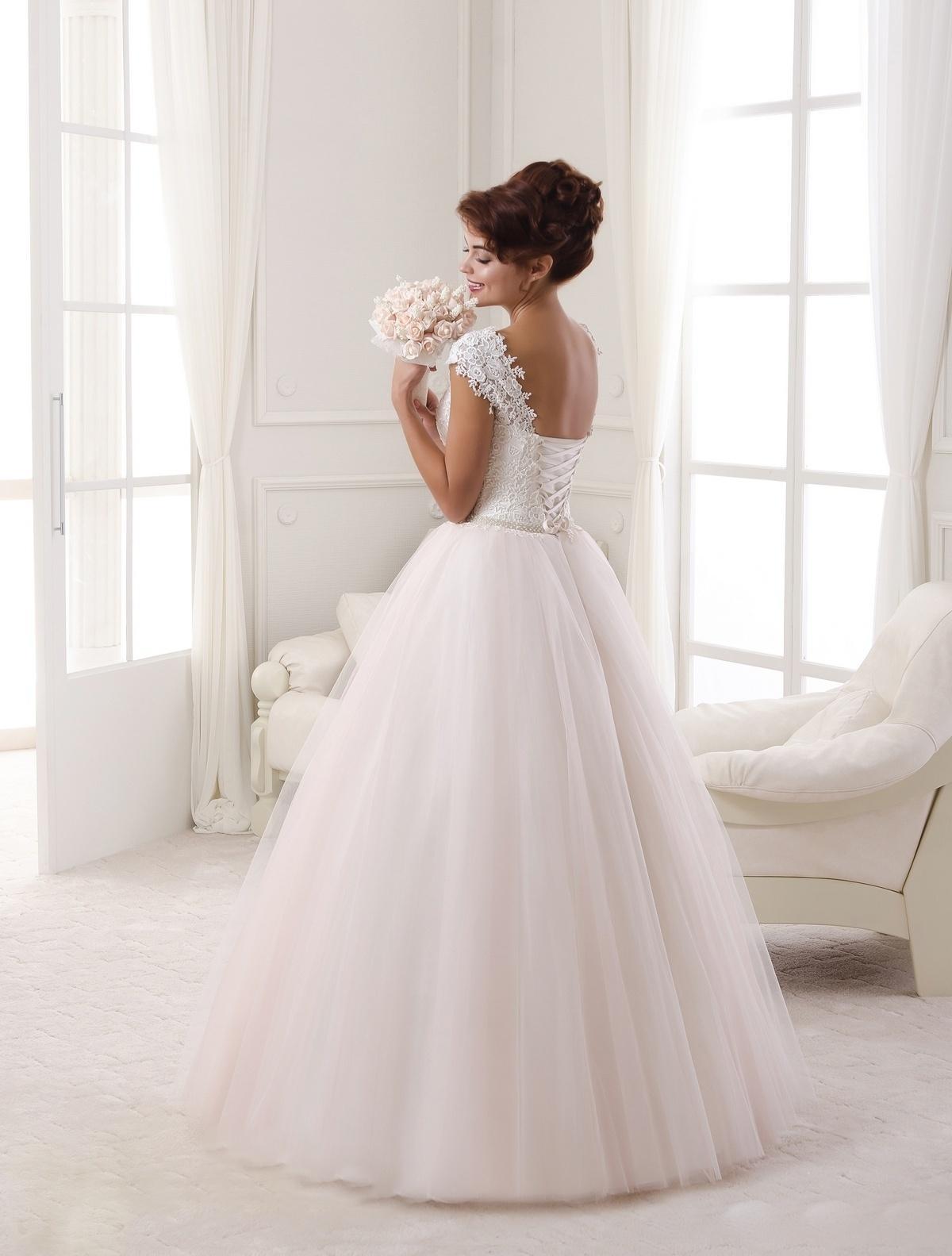 Svadobné šaty NOVÉ 16-295 - Obrázok č. 3