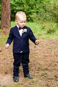 Slimkovy oblek HM, 104