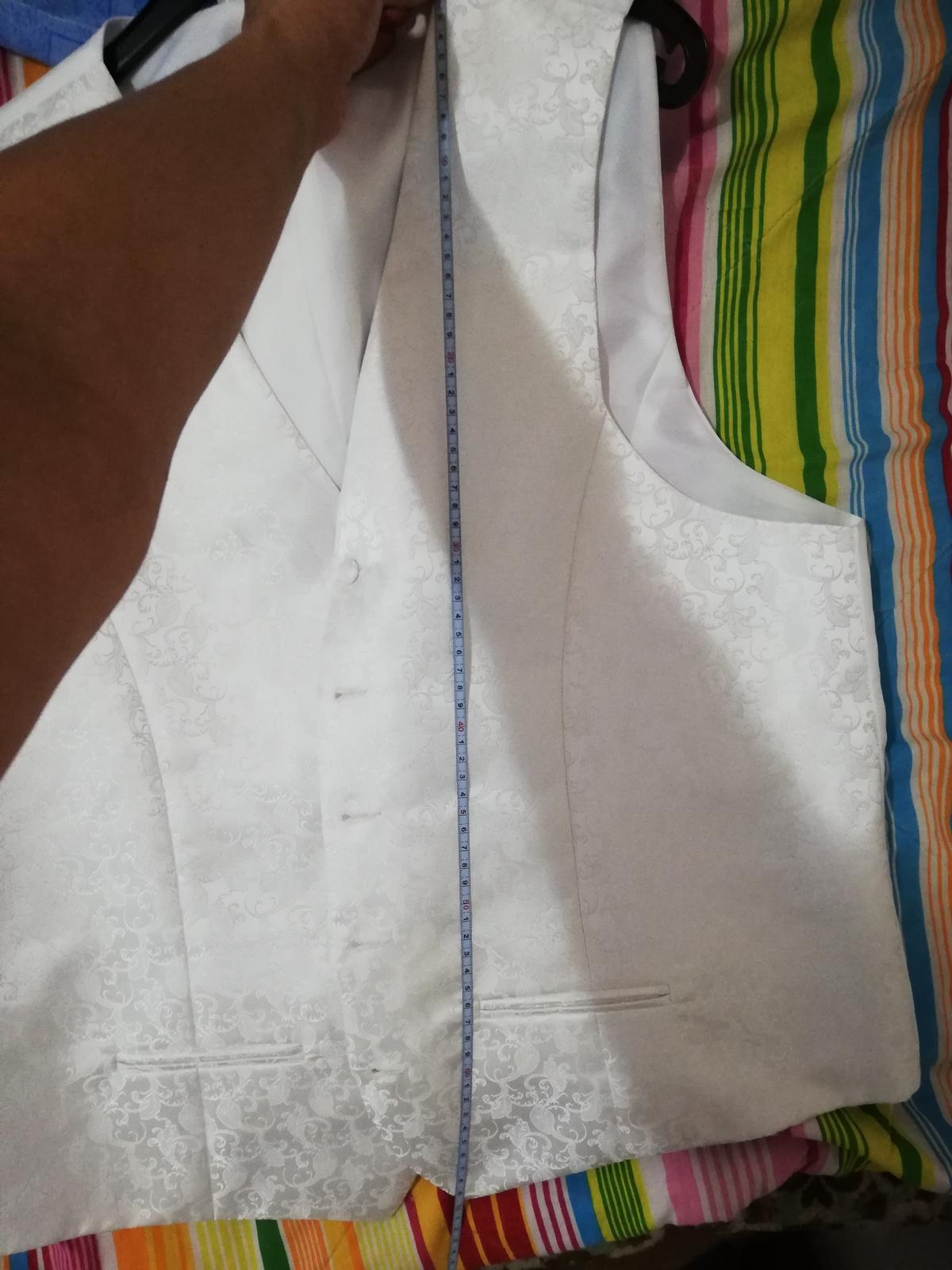 Vesta + kravata s poštou - Obrázok č. 3