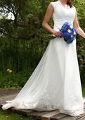 bílé krajkové svatební šaty, 41