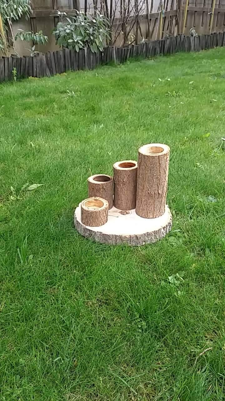 Svietnik dreveny - Obrázok č. 1