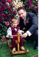 Petko s nasim krstniatkom=)