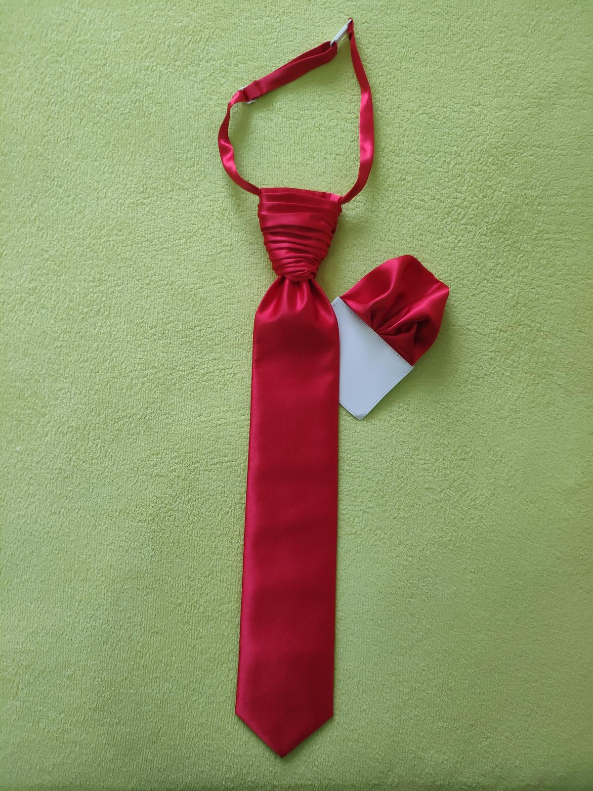 Francúzska kravata s vreckovkou - Obrázok č. 2