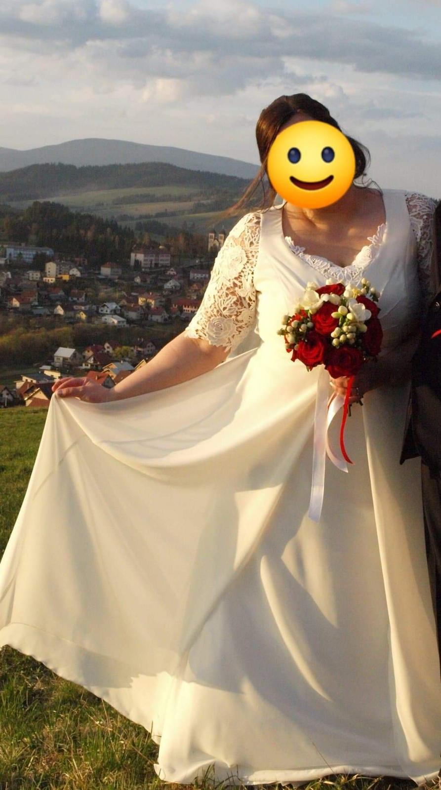 Svadobné šaty (44-46) - Obrázok č. 1