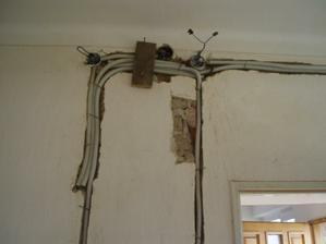 nové elektrické rozvody