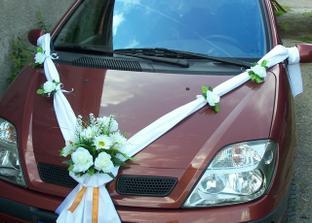 na auto nevěsty