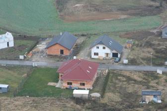 letecký pohled prosinec 2008