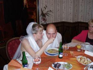 Pěkně nakrmit manžela
