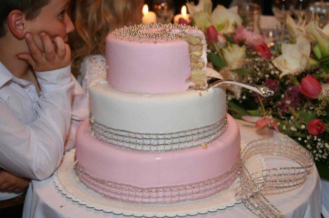 Lucia{{_AND_}}Marek - svadobna torta uz bez sosky