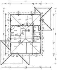 na poschodi su tiez drobne zmeny este oproti tomuto navrhu (napr.do satnika sa budu dvere aj z chodby...