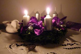Svítíme.. a užíváme adventu