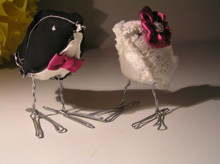 Lucie a Jakub - Ptáčci na dort už jsou u nás v hnízdečku :-)