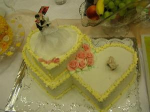 Torta od mojich krstných rodičov